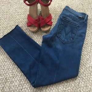 Cropped Mother Jeans